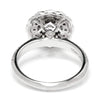 Once Upon A Diamond Semi Mount White Gold Noam Carver Halo Engagement Ring Semi-Mount White Gold