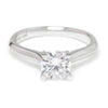 Once Upon A Diamond Semi Mount White Gold Noam Carver Solitaire Engagement Ring Semi-Mount White Gold
