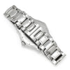 Once Upon A Diamond Watch Stainless Steel Ebel 1911 40MM Men's Quartz Watch Stainless Steel Silver Dial