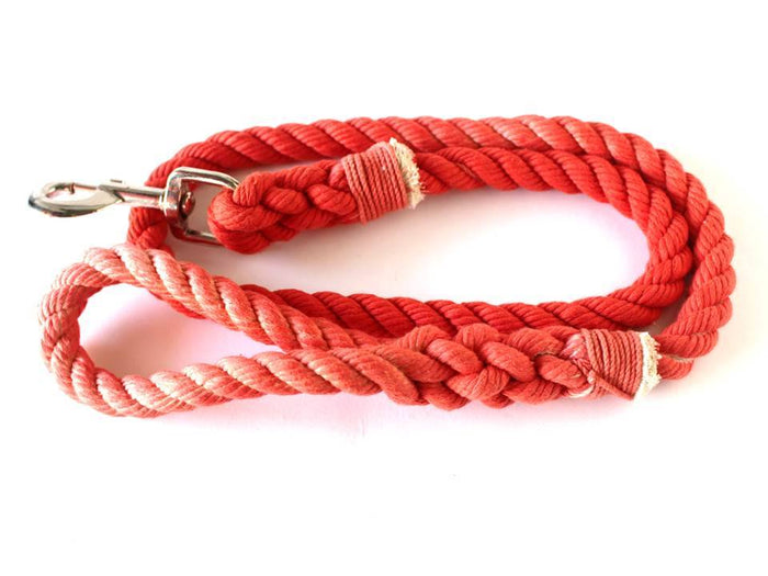 Salmon Rope Leash