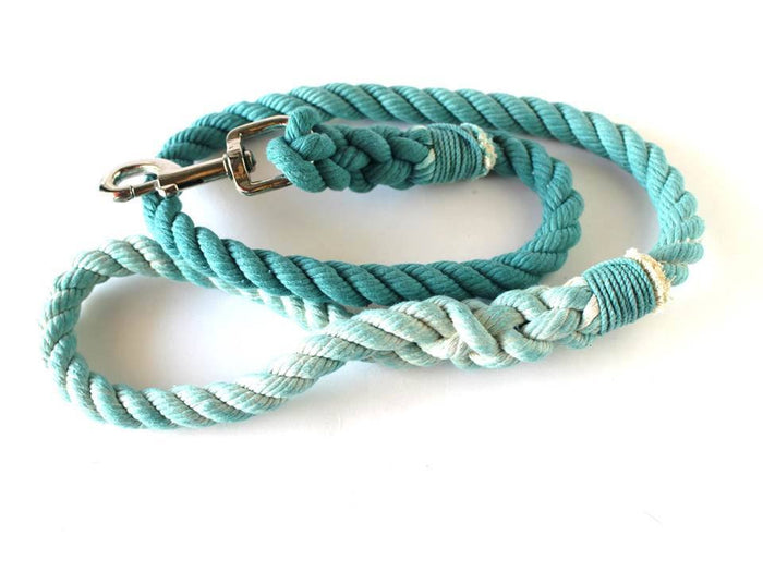 Green Rope Leash