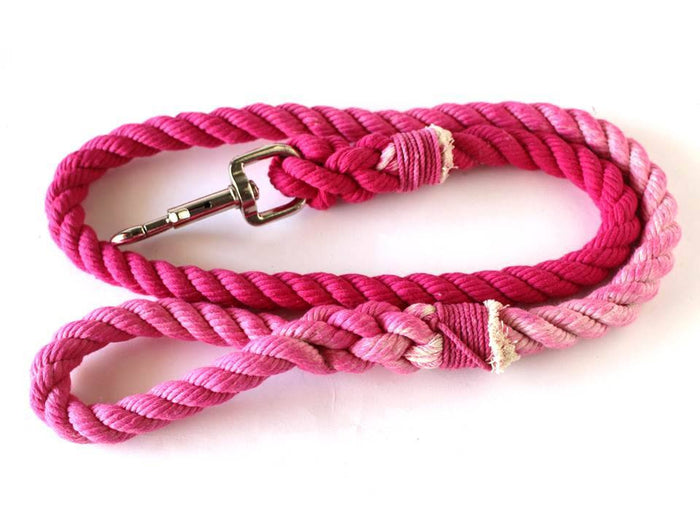 Pink Rope Leash