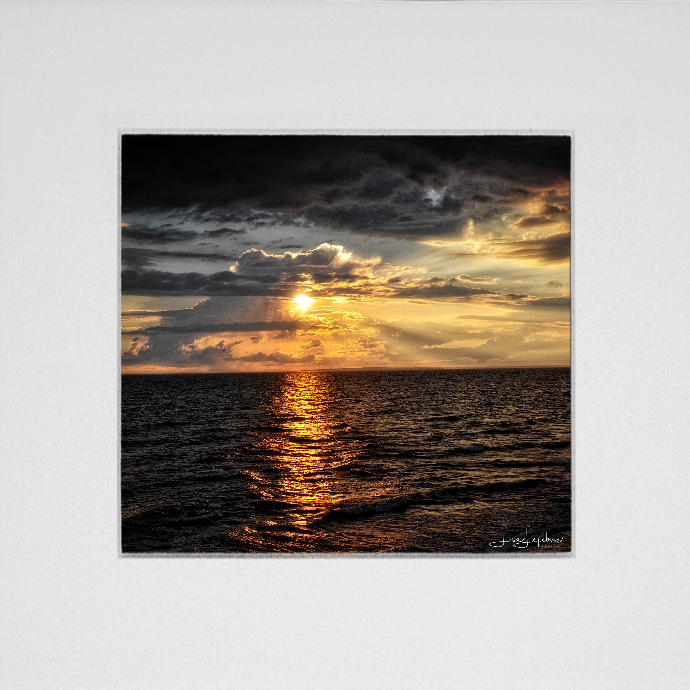 Point Prim Sunset Print - Original Photographic Print