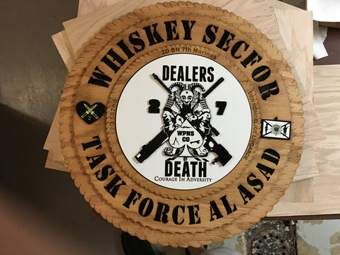 Plaque Whiskey Secfor
