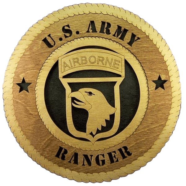 "Laser Pics and Gifts: 14"" 101ST AIRBORNE Military Plaque - Laser Pics & Gifts"
