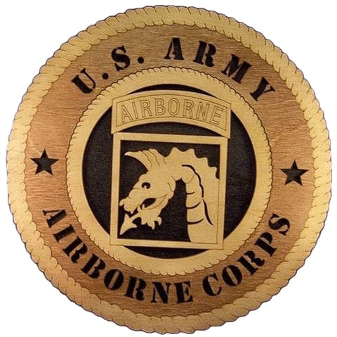 Laser Pics and Gifts: 18TH AIRBORNE CORPS Military Plaque - Laser Pics & Gifts