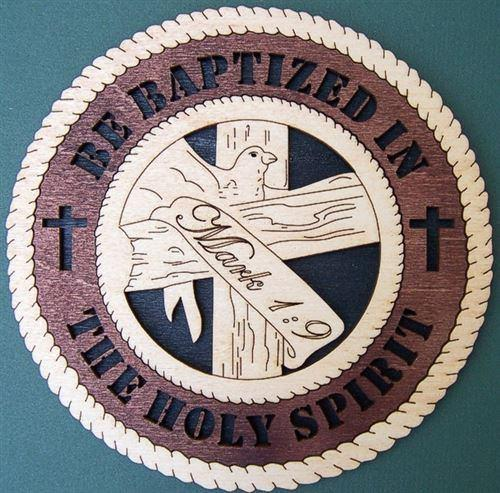 "Laser Pics and Gifts: 14"" 3-D MARK 1:9 Spiritual Plaque - Laser Pics & Gifts"