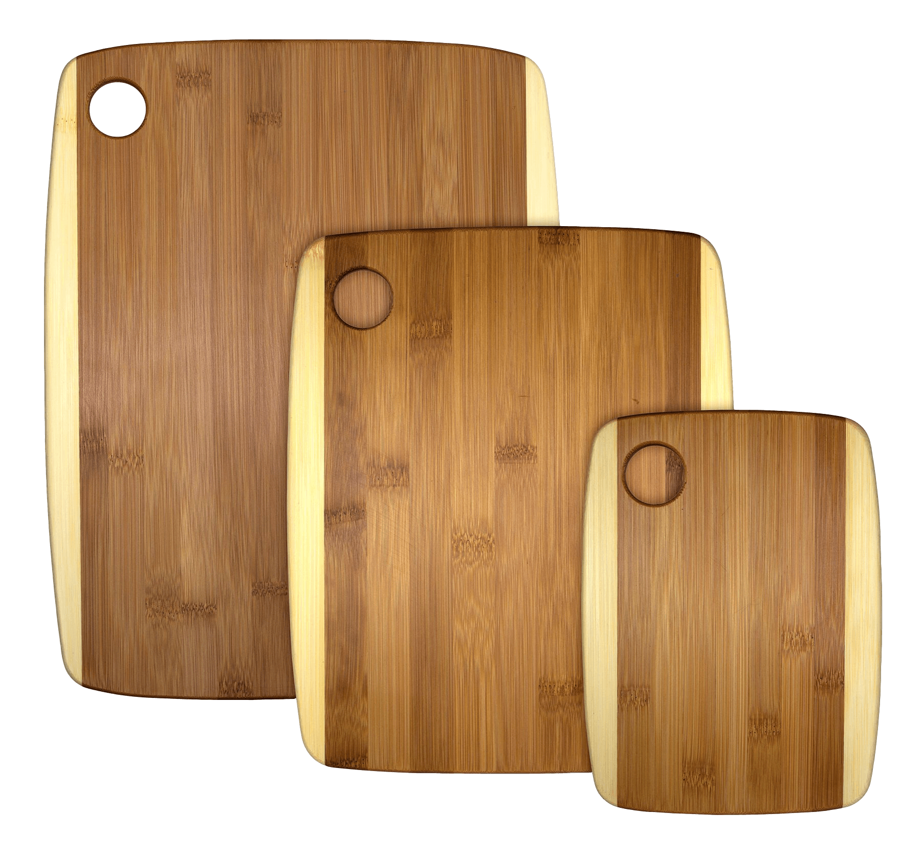 3 piece 2-tone Serving and Cutting Board | Laser Pics & Gifts