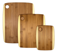 3 piece 2-tone Serving and Cutting Board