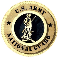Laser Pics and Gifts: ARMY NATIONAL GUARD Military Plaque - Laser Pics & Gifts