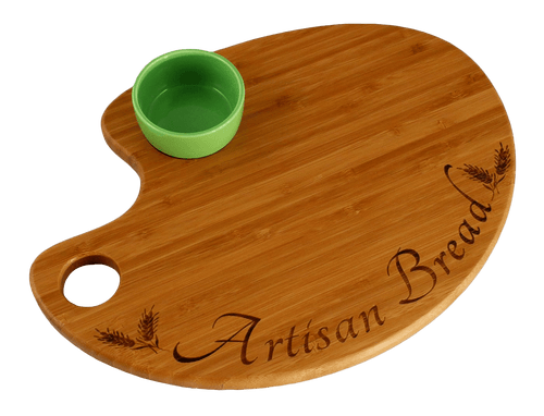 Bamboo Artisan Bread Cutting and Serving Boards