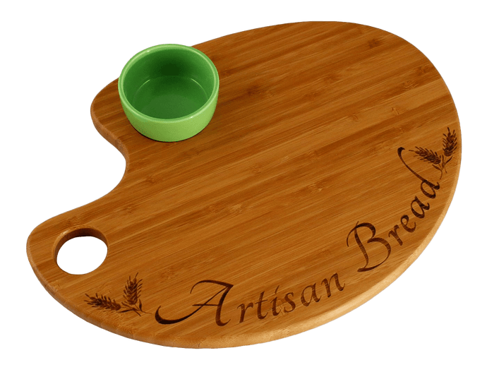 Laser Pics and Gifts: Artisan Bread Bamboo Serving and Cutting Board - Laser Pics & Gifts