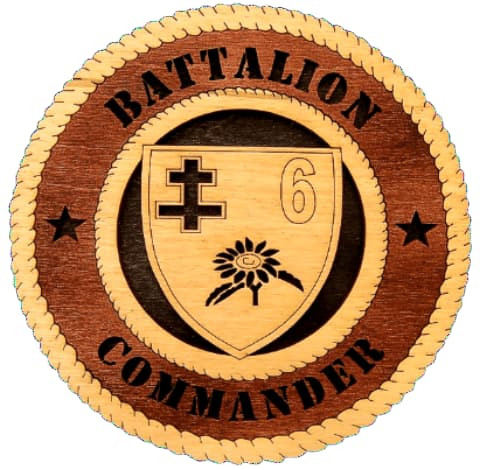 Laser Pics and Gifts: BATTALION COMMANDER - Laser Pics & Gifts