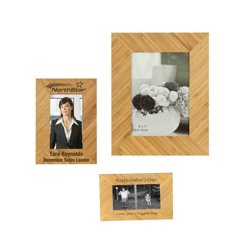 Laser Pics and Gifts: Bamboo Picture Frame - Laser Pics & Gifts