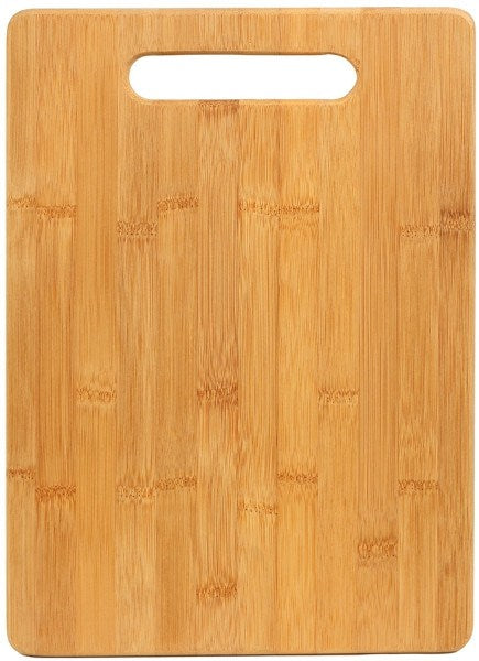 Bamboo 13 3/4 x 9 3/4 Rectangle Cutting Board