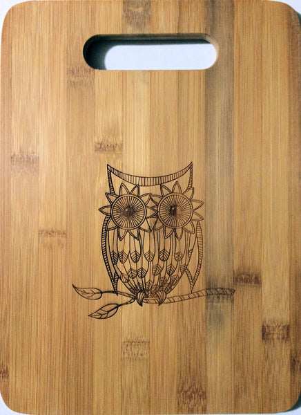 Laser Pics and Gifts Owl Design