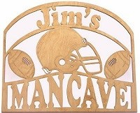 Laser Pics and Gifts: Mancave Sign Max - Laser Pics & Gifts
