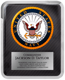 "Laser Pics and Gifts: 10 1/2"" x 13"" Navy Hero Plaque - Laser Pics & Gifts"