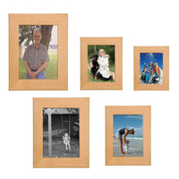 Laser Pics and Gifts: Genuine Red Alder Picture Frame - Laser Pics & Gifts