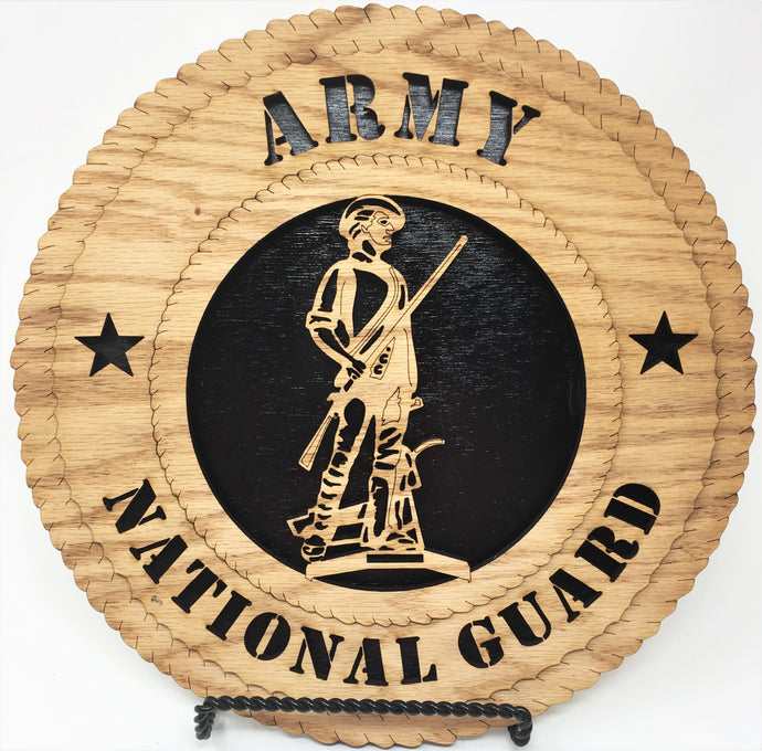 Army National Guard Military Plaques