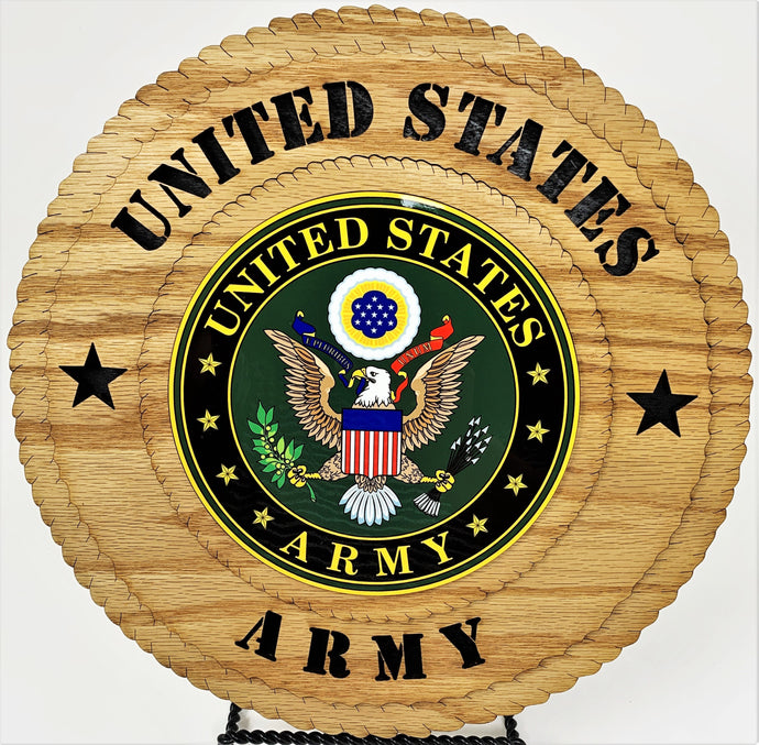 Laser Pics and Gifts:  United States ARMY Military Plaque - Laser Pics & Gifts