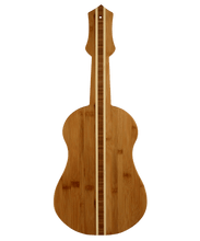 Ukulele/Guitar Bamboo Serving and Cutting Board | Laser Pics & Gifts