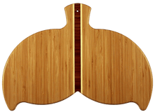 Whale Tail Bamboo Serving and Cutting Board | Laser Pics & Gifts