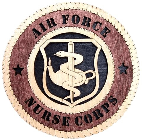 "Laser Pics and Gifts: 12"" Air Force Nurse Corps - Laser Pics & Gifts"
