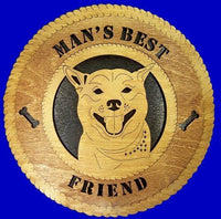 "Laser Pics and Gifts: 12"" AKITA Dog Plaque - Laser Pics & Gifts"