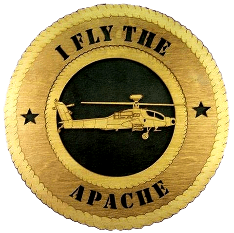 Laser Pics and Gifts: APACHE Military Plaque - Laser Pics & Gifts