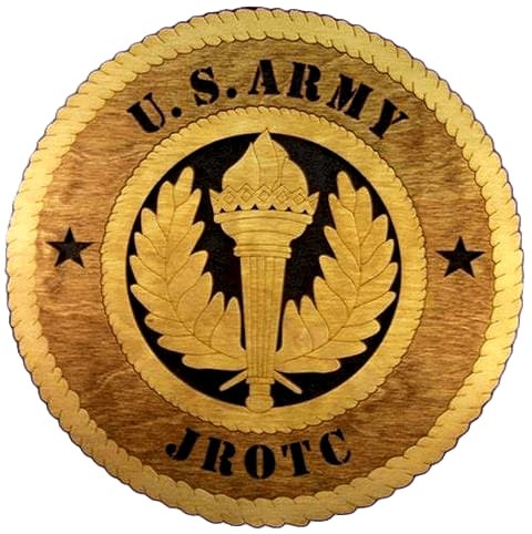 Laser Pics and Gifts: ARMY JROTC Military Plaque - Laser Pics & Gifts