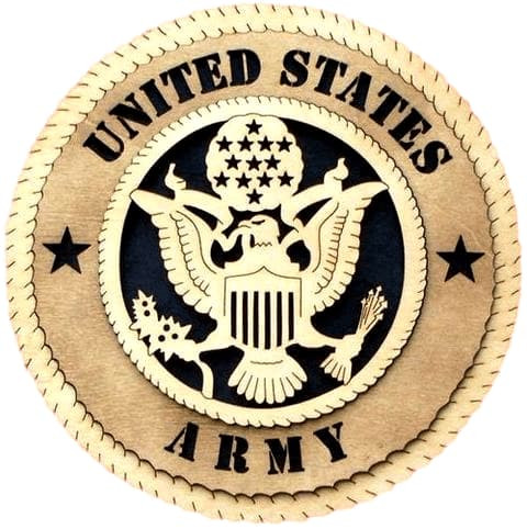 Laser Pics and Gifts: ARMY Military Plaque - Laser Pics & Gifts