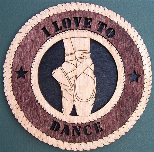Laser Pics and Gifts:  BALLERINA Plaque - Laser Pics & Gifts