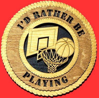 "Laser Pics and Gifts: 12"" BASKETBALL Plaque - Laser Pics & Gifts"