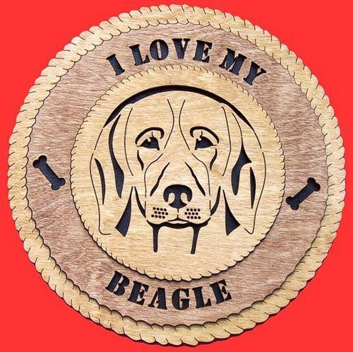 Laser Pics and Gifts:  BEAGLE Plaque - Laser Pics & Gifts