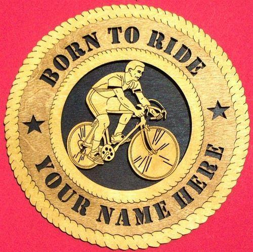 Laser Pics and Gifts:  BIKE RIDER Plaque - Laser Pics & Gifts