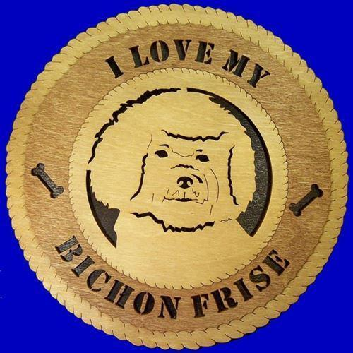 Laser Pics and Gifts:  BISHON FRISE Plaque - Laser Pics & Gifts