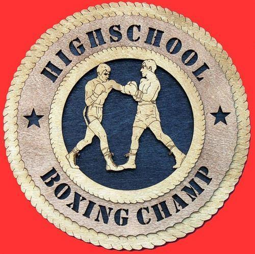 Laser Pics and Gifts:  BOXING Plaque - Laser Pics & Gifts