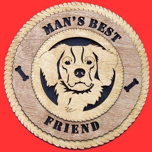 Laser Pics and Gifts:  BRITTANY SPANIEL Plaque - Laser Pics & Gifts