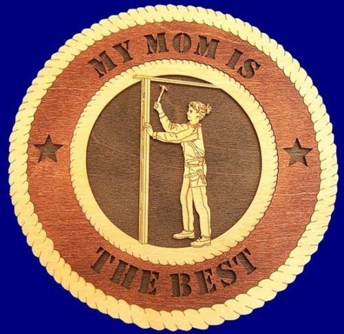 Laser Pics and Gifts: CARPENTER FEMALE Professional Plaque - Laser Pics & Gifts