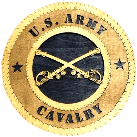 Laser Pics and Gifts: CAVALRY Military Plaque - Laser Pics & Gifts