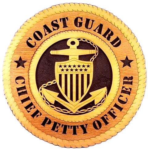 Laser Pics and Gifts:  CHIEF PETTY OFFICER Military Plaque - Laser Pics & Gifts