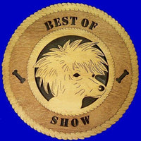 Laser Pics and Gifts: CHINESE CRESTED Dog Plaque - Laser Pics & Gifts