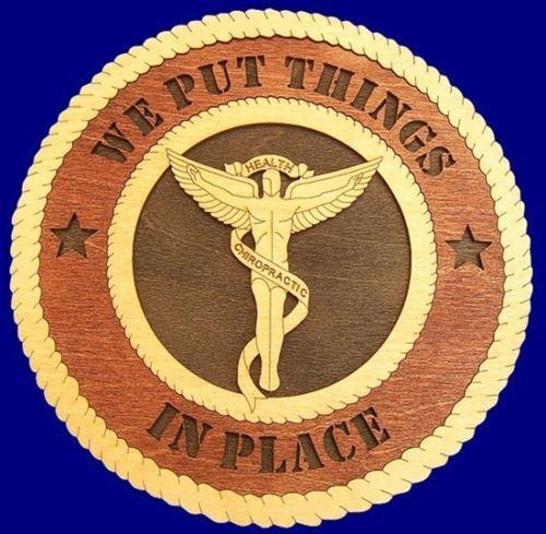 "Laser Pics and Gifts: 12"" CHIROPRACTIC Professional Plaque - Laser Pics & Gifts"