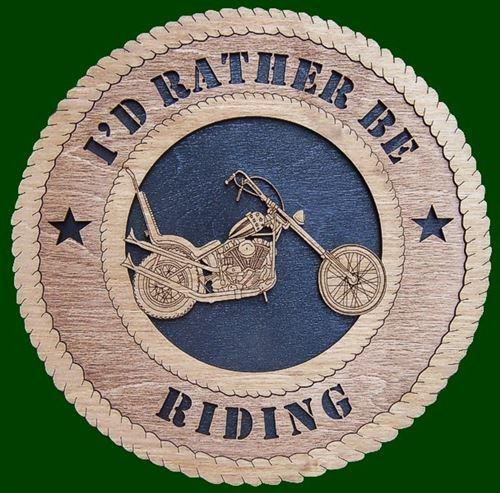Laser Pics and Gifts:  CHOPPER Plaque - Laser Pics & Gifts