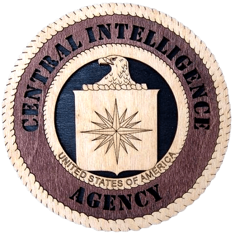 Laser Pics and Gifts: CIA Professional Plaque - Laser Pics & Gifts