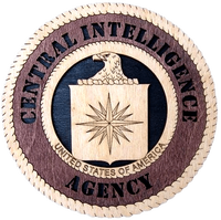 "Laser Pics and Gifts: 12"" CIA Professional Plaque - Laser Pics & Gifts"