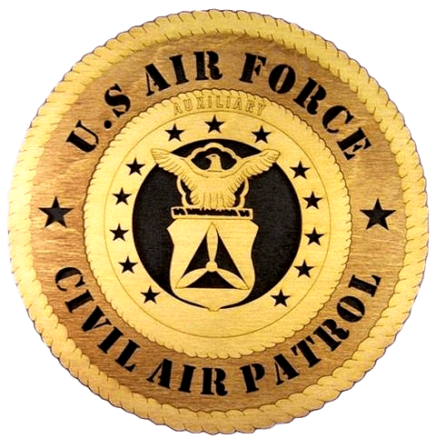 Laser Pics and Gifts: CIVIL AIR PATROL Military Plaque - Laser Pics & Gifts