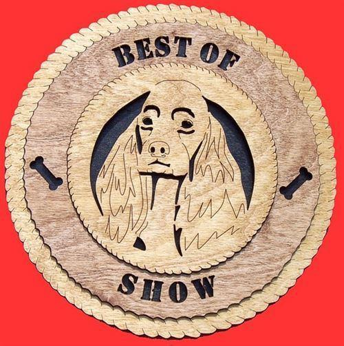 Laser Pics and Gifts:  COCKER SPANIEL Dog Plaque - Laser Pics & Gifts