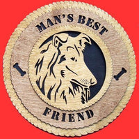 Laser Pics and Gifts:  COLLIE Dog Plaque - Laser Pics & Gifts